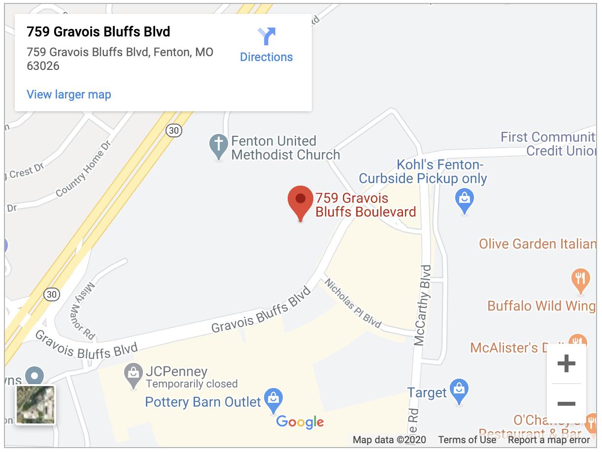 Google Maps location for Jim Butler Chevrolet